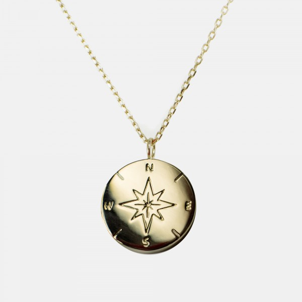 "Necklace ""Compass"" Gold"