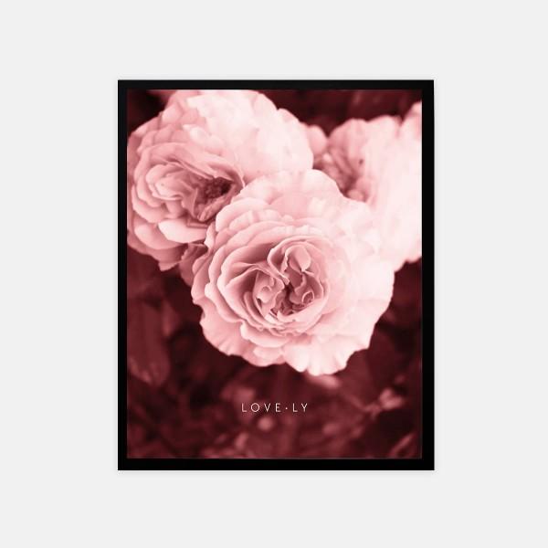 """Poster 40x50cm """"Lovely"""""""