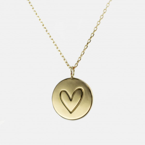 "Necklace ""Heart"" Gold"