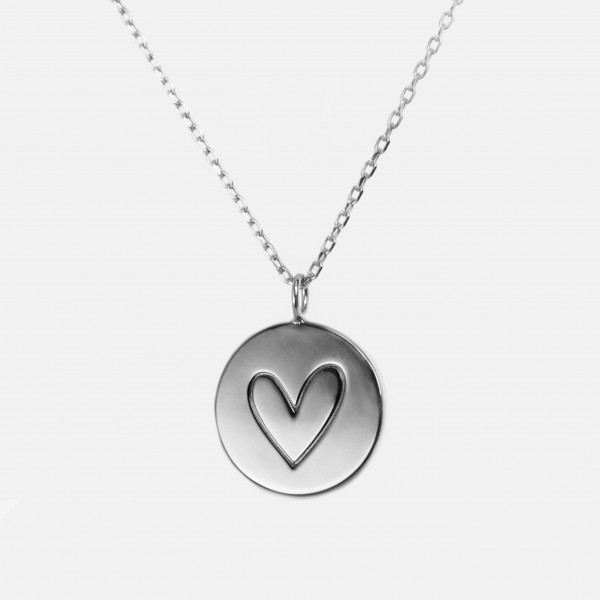 "Necklace ""Heart"" Silver"