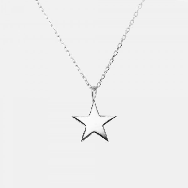 "Necklace ""Star"" Silver"