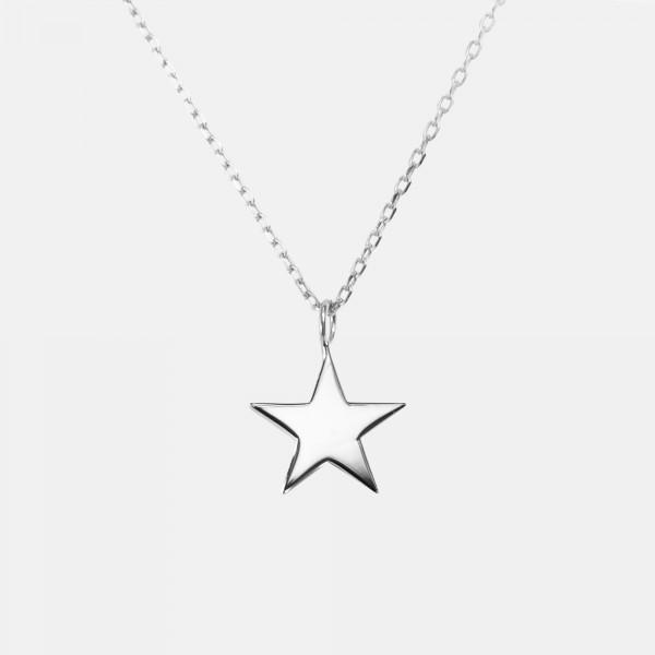 """Halskette """"Star"""" Silber"""