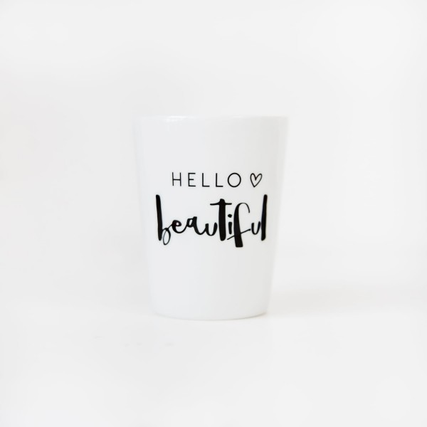 "Mug ""Hello Beautiful"""