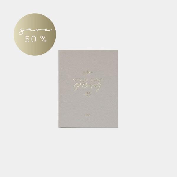 "Pocket Calendar 2021 | A6 ""Growing"""