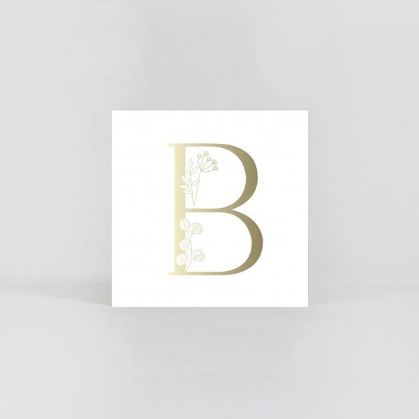 "JO & JUDY –Letter Postcard ""B"""
