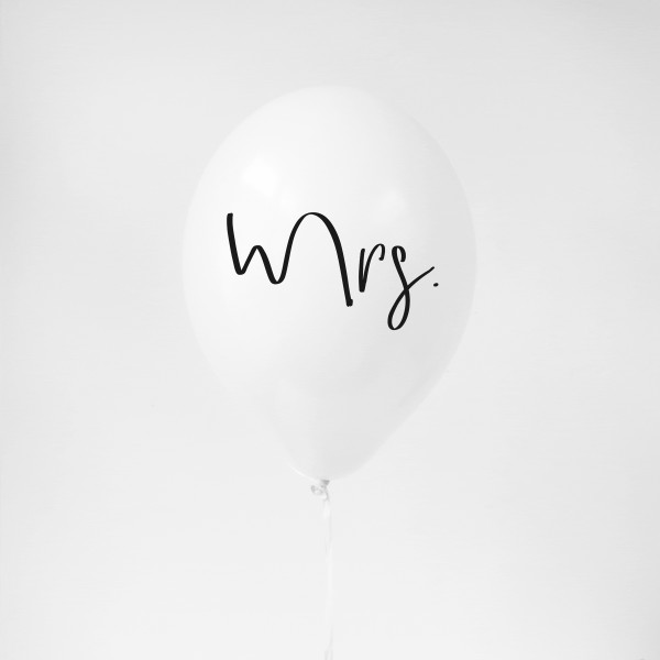 "Balloon ""Mrs."""
