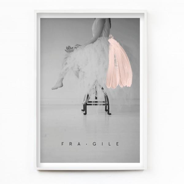 "JO & JUDY – Poster 50x70cm ""Fragile"""