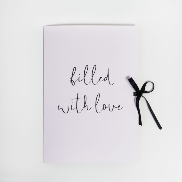 "Folder A4 ""Filled with Love"""