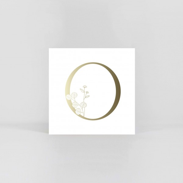 "JO & JUDY – Letter Postcard ""O"""