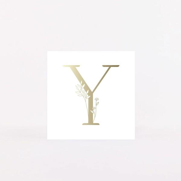 """Letter Postcard """"Y"""""""