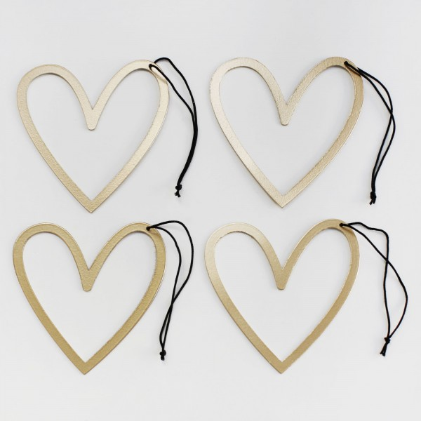 Heart Ornament, Set of 4