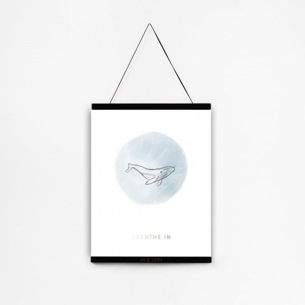 """JO & JUDY – Poster 30x40cm """"Breathe In"""""""