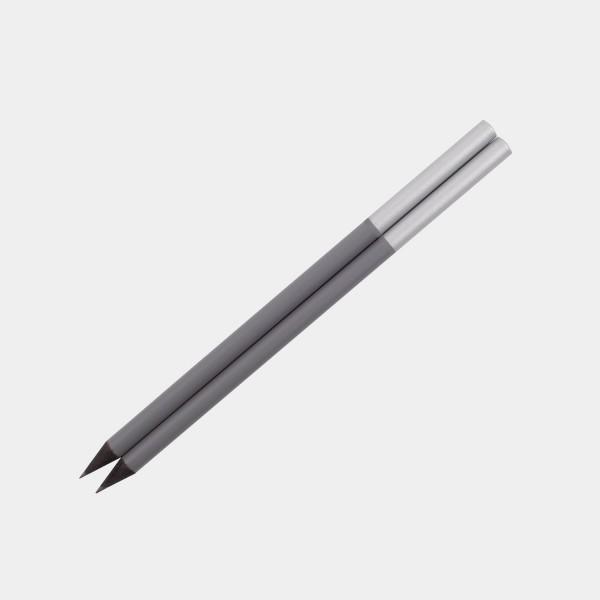 Pencils Set of 2 Grey