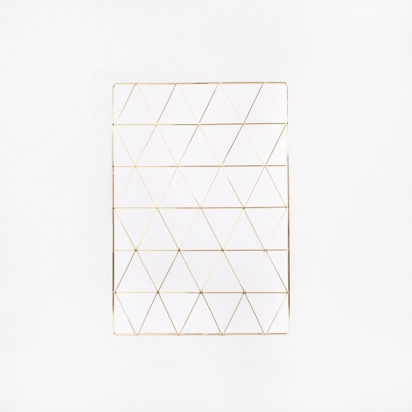 Wall Grid Gold