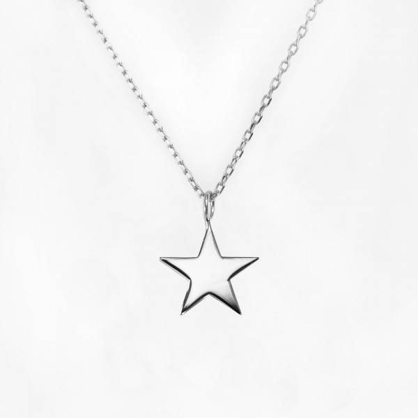 JO & JUDY – Star Necklace Silver