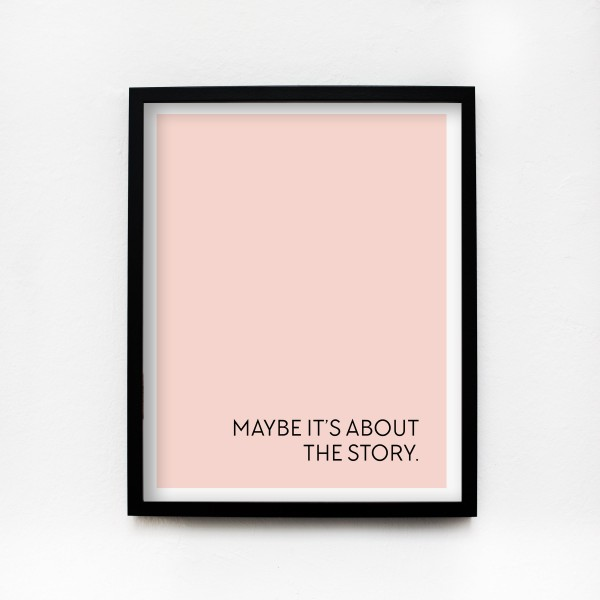 "JO & JUDY – Poster 40x50cm ""The Story"""