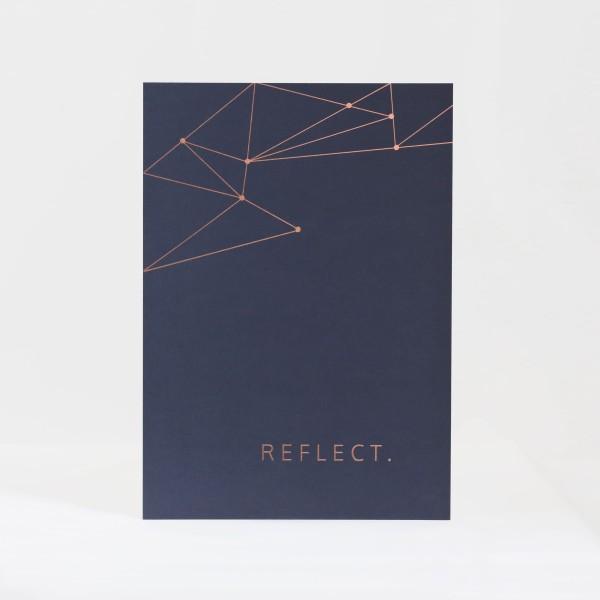 "Print ""Reflect."""