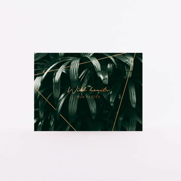 "Postcard ""Wild Hearts"""