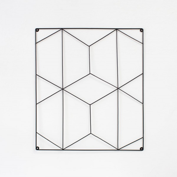 JO & JUDY – Wall Grid Black