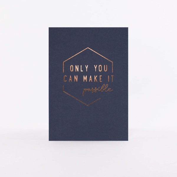 "Postcard ""Only You"""
