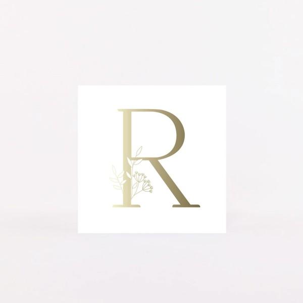 "Letter Postcard ""R"""