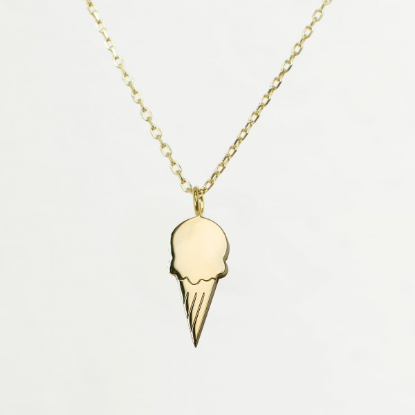 JO & JUDY – Ice Cream Necklace Gold