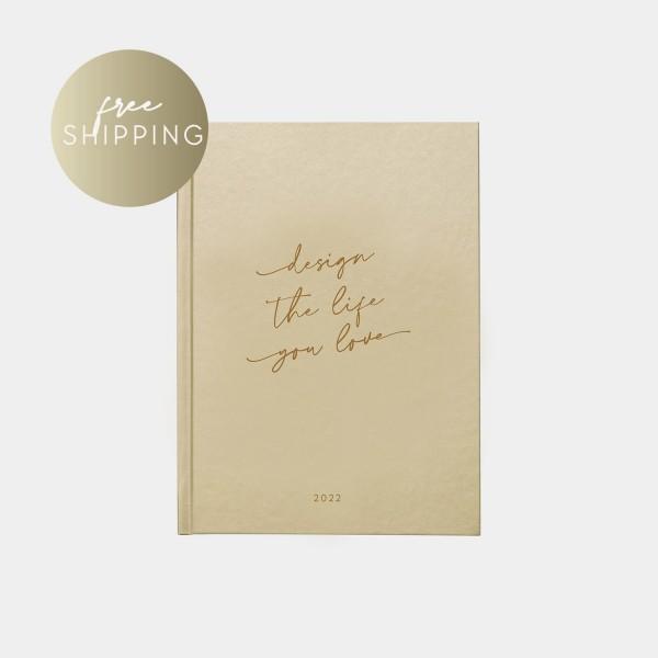 """Calendar 2022   A5 """"Design the life"""""""